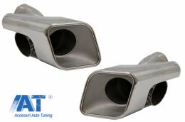 Tobe Ornamente Sistem de evacuare Range compatibil cu ROVER Sport (2005-2013) L320 AutoBiography Design varianta Diesel - TY-D004D